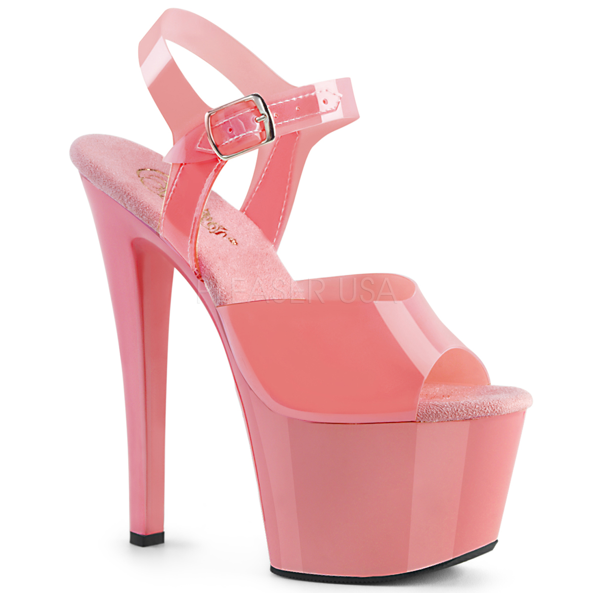 a1f77f41bf0 Pleaser Sky-308N Baby Pink (Jelly-Like) TPU And Baby Pink