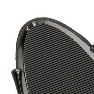 Grooved Skid Resistant Rubber Sole